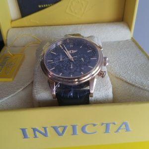 """I"" by Invicta, 44mm Men's watch Gold/Black, 29865"